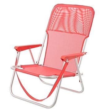 Monty LOLAhome Silla Plegable para Playa Pop de Aluminio Coral Garden,