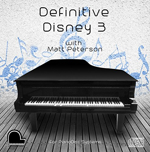 Definitive Disney 3 - PianoDisc Compatible Player Piano MP3'