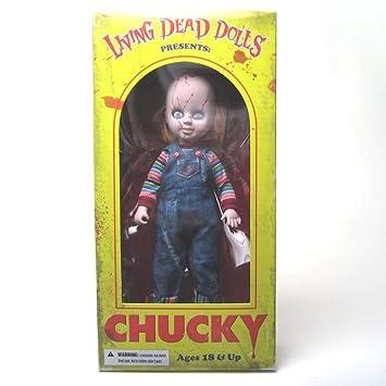 Mezco Living Dead Dolls» - Muñeco de Chucky, el muñeco diabólico, de 25