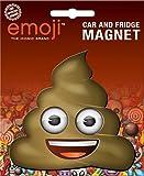 Ata-Boy Die-Cut Smiling Poop Emoji Magnet for Cars, Refrigerators and Lockers