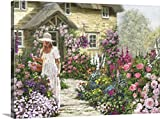 Gallery-Wrapped Canvas entitled Cottage Garden by The Macneil Studio 36''x26''