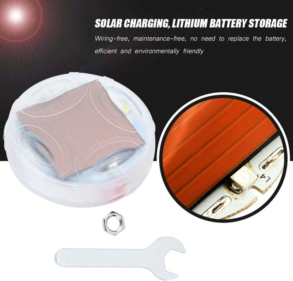 Lampe de lumi/ère flash 4pcs /énergie solaire moto v/élo voiture roue pneu pneu valve valve LED stroboscope lampe de lumi/ère