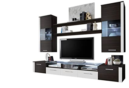 Concept Muebles Fresh Modern Wall Unit/Entertainment Centre/Spacious And  Elegant Furniture/Tv