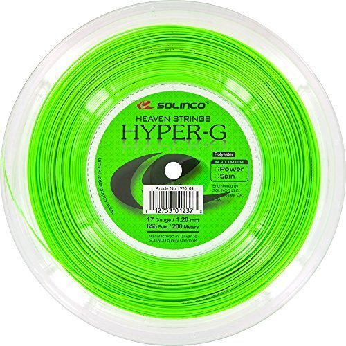 Solinco Hyper-G (17-1.20mm) Tennis String Reel (656ft / 200m) by Solinco (Image #1)