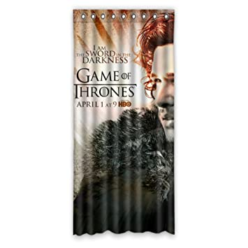 Creative House Decors Game Of Thrones Polyester Custom Blackout Window Curtains 50quot