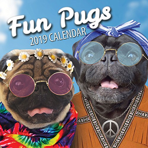 Fun Pugs 2019 Pug Wall Calendar by  Fun Pugs