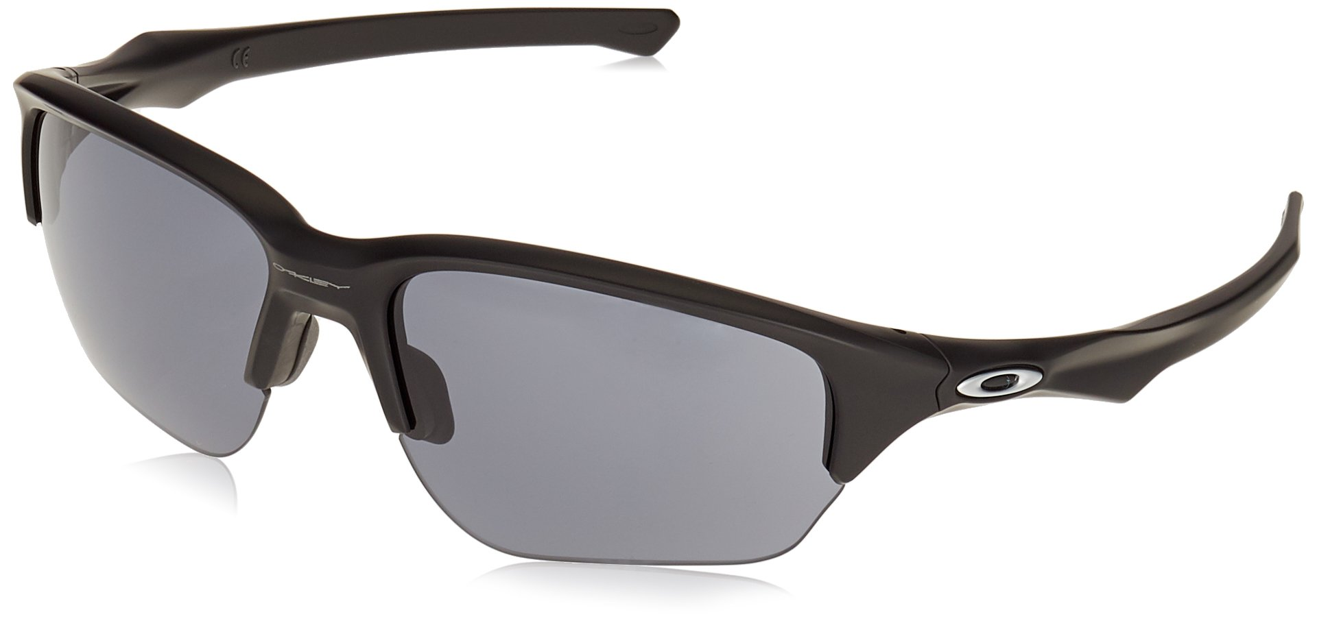 Oakley Men's Flak Beta Rectangular Sunglasses, Matte black, 64 mm