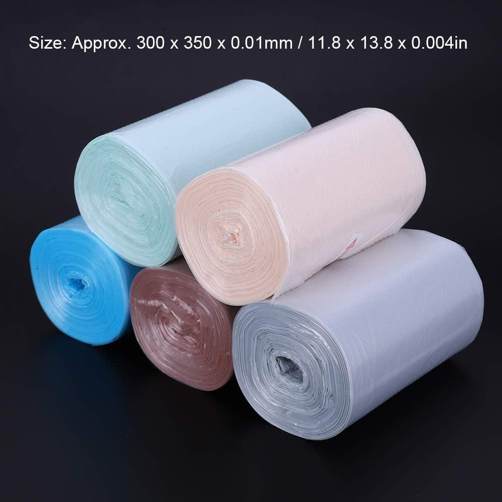 250 PCS//sac /à ordures de bo/îte 300 x 350 x 0,01 mm mini sac poubelle portable pour bureau domestique