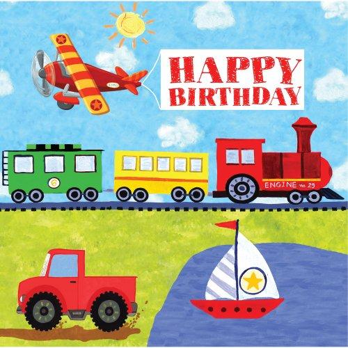 Creative Converting Happy Birthday Napkins