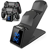 PS4 Controller Charger Dock Station, OIVO PS4 Dual Shock 4 Fast Charger Docking Station with lED Indicator for Sony…
