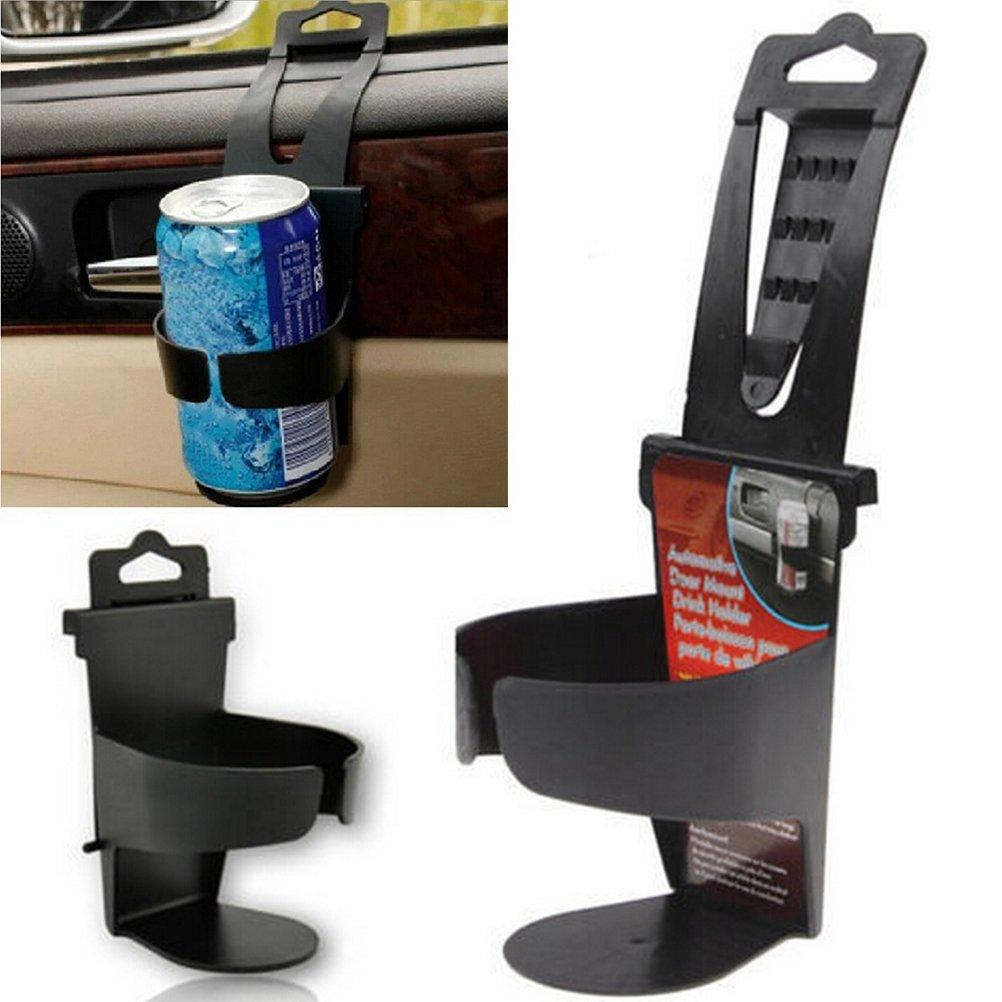 FADACAI 1 st/ück schwarz universal Auto LKW t/ürhalterung Trinken Flasche Halter Stehen