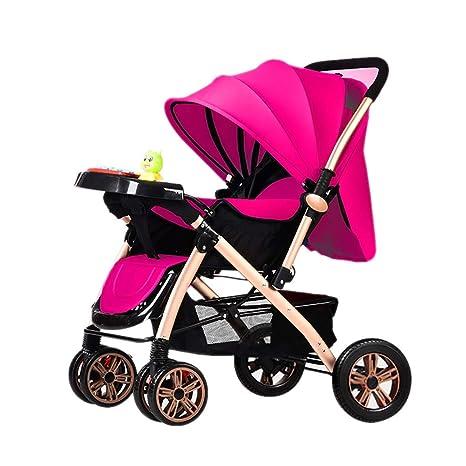 LIU UK Baby Stroller Cochecito de bebé Carrito de bebé ...