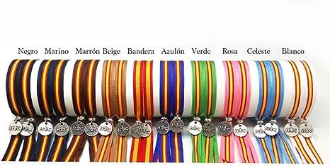 Hispania Colors Pulsera de Bandera de España (Bandera), de Tela Ultra Resistente y Lavable, de tamaño XXL Ajustable Mediante Corte a Todos los tamaños.: Amazon.es: Deportes y aire libre