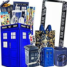 Doctor Who Gift Box with Tardis Cookie Jar, 12th Sonic Screwdriver, Dalek & More