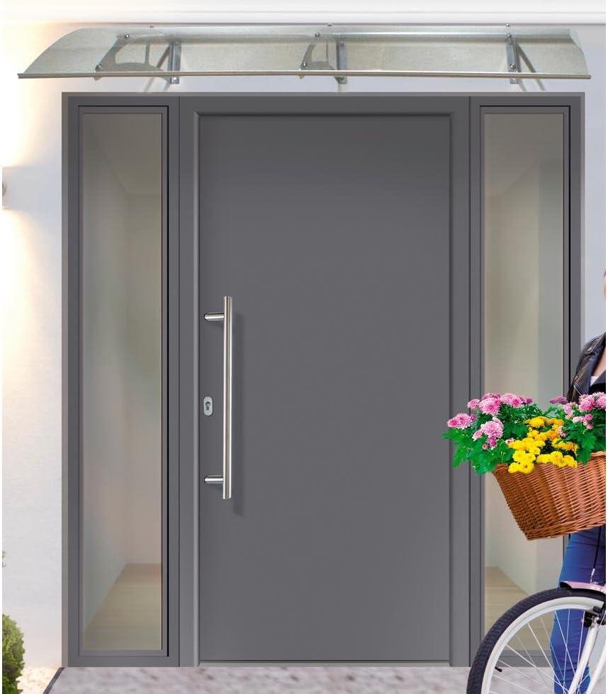 KM meeth Valla GmbH de aluminio para puerta A01 fijo métrica BxH: 98 x 208 cm, Antracita derecha, antracita: Amazon.es: Bricolaje y herramientas