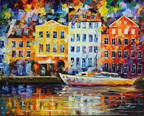 NORMANDY is the ONE-OF-A-KIND, ORIGINAL hand painted oil painting on Canvas by Leonid AFREMOV