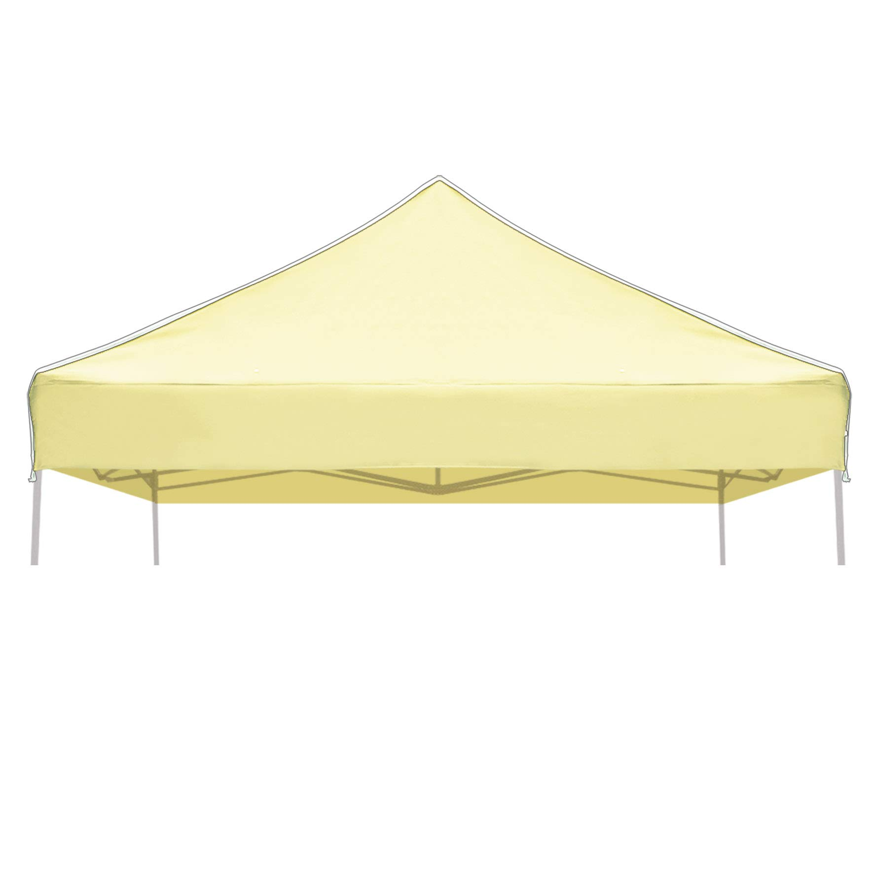 Strong Camel Ez Pop Up Canopy Replacement Top Instant 10 X10 Gazebo Ez Canopy Cover Patio Pavilion Sunshade Plyester Beige Color Buy Online In India At Desertcart In Productid 42521939