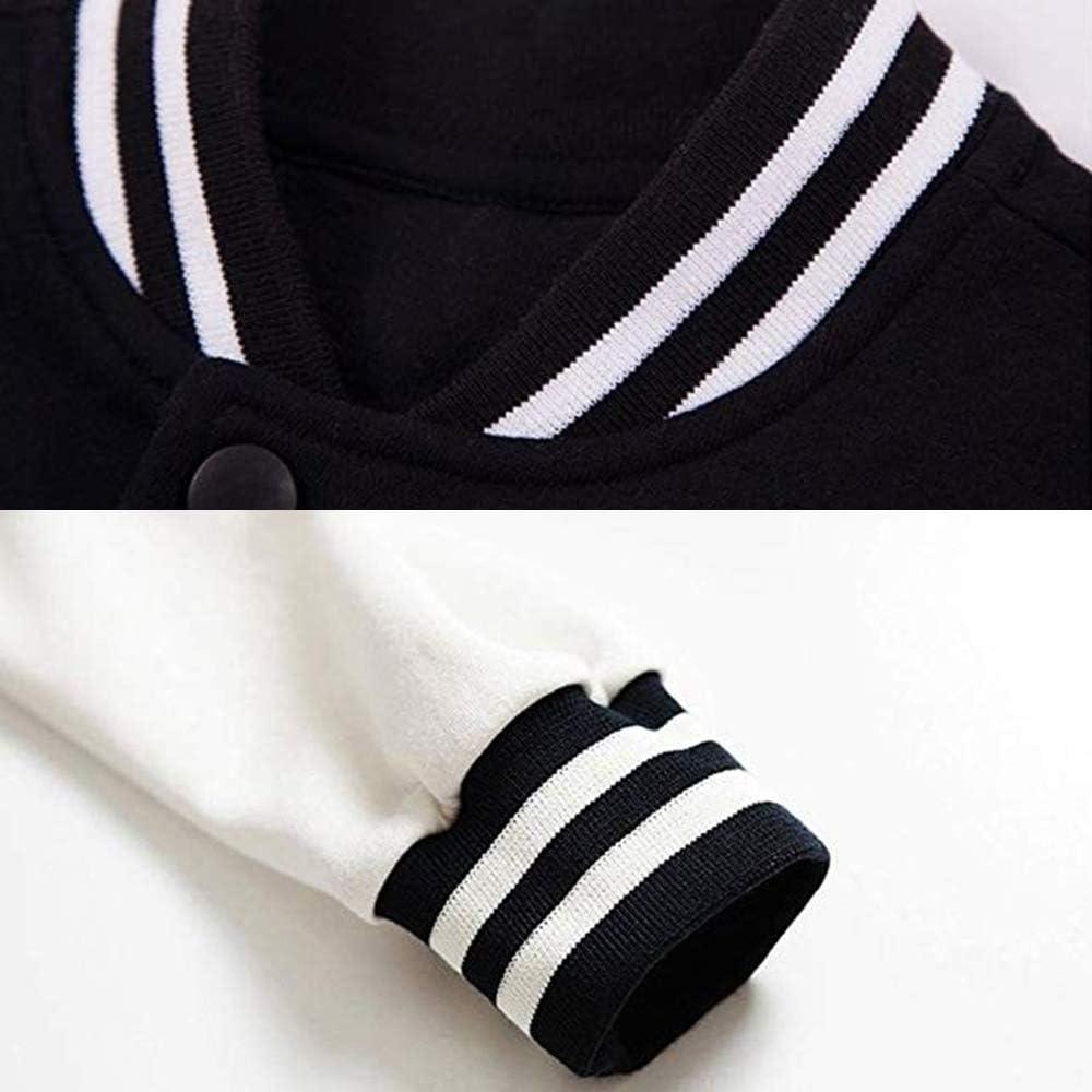 Yestrong Unisex Mens /& Women Fashionable Print Design Ruff Ryders Baseball Uniform Jacket Sport Coat