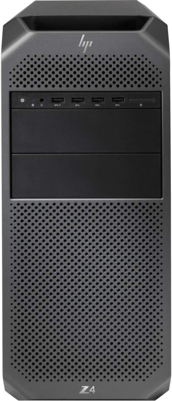 HP Z4 G4 WorkstationTower (Intel Xeon W-2123 Quad-core 3.6GHz, 32GB Memory, 512GB SSD+256GB SSD, NVIDIA Quadro P4000 8GB Graphics) RJ-45, Display Port, Windows 10 Pro