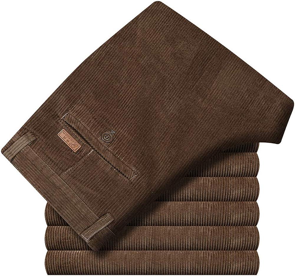 IDEALSANXUN Men/'s Big/&Tall Casual Loose Corduroy Long Pants