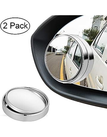 per angoli ciechi 2 pz. R - Specchietto auto autoadesivo convesso diametro 5,1 cm SODIAL
