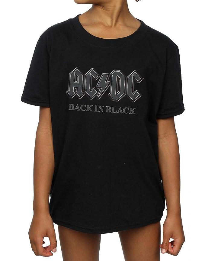 AC//DC Bambini e ragazzi Back In Black Maglietta