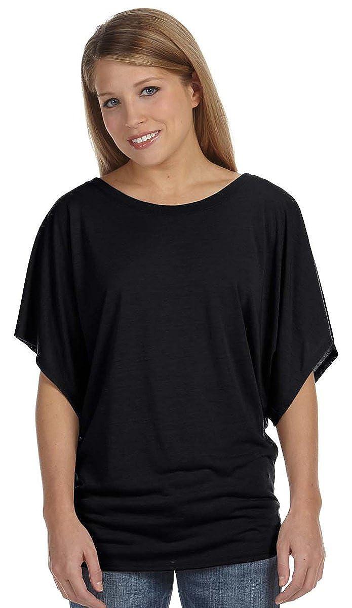 3a590c819 Bella Women's Flowy Draped Sleeve Dolman Top at Amazon Women's Clothing  store:
