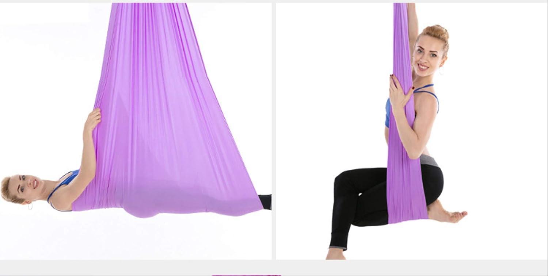 HPZN Hamaca aérea para Yoga, Hamaca elástica para el hogar ...
