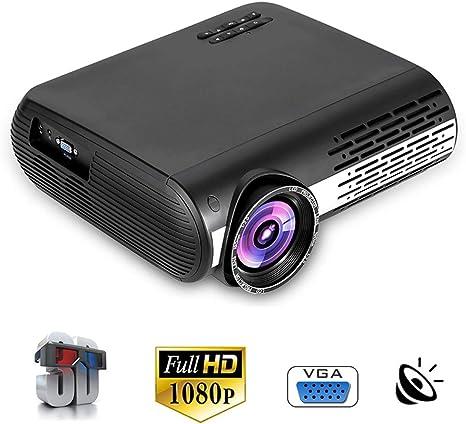 YTBLF Proyector de Video LED, 30,000 Horas de Vida útil de la ...