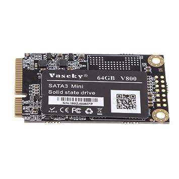 Homyl Disco Duro SSD mSATA de 64GB Unidad Interna de Estado sólido ...
