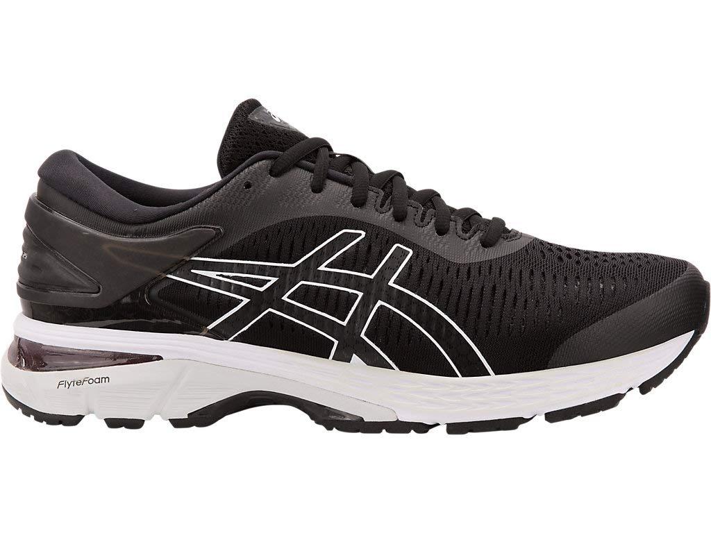 ASICS Gel Kayano 25 Men's Running Shoe, Black/Glacier Grey, 7 D US by ASICS (Image #1)