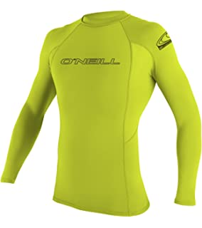 O Neill Wetsuits Basic Skins S/S Crew - Camiseta de poliester para hombre con proteccin UV: Amazon.es: Deportes y aire libre