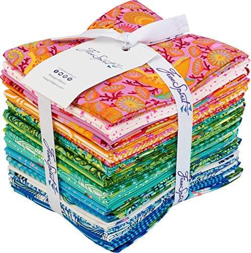 Tula Pink Zuma Fat Quarter Bundle 24 Precut Cotton Fabric Quilting FQs Assortment Free Spirit FB1FQTP.0918X -
