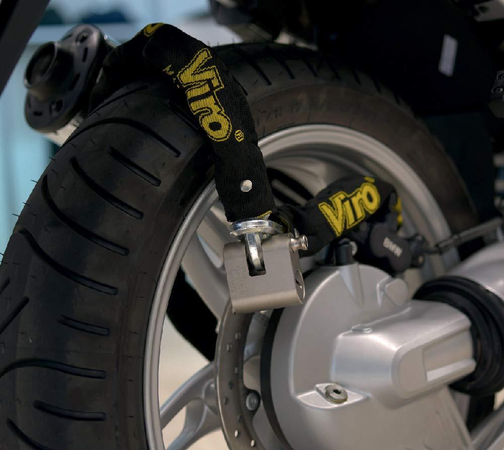 scooter y bicicletas con candadoEurothor 4155.180 Cadena n Viro 180 cm Cadena antirrobo para motos