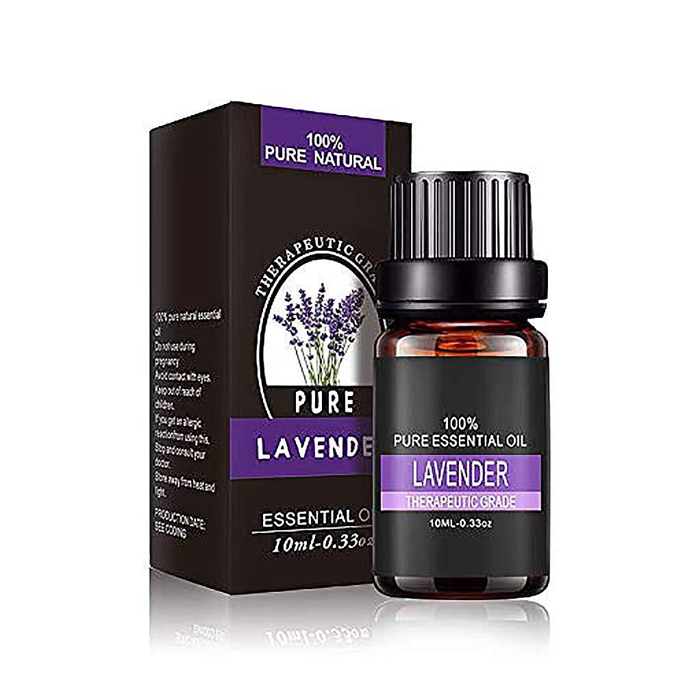 Lavanda Oli Essenziali, massaggio per aromaterapia naturale e puro, olio rilassante per diffusore