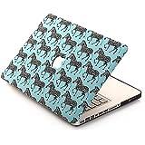 "[3 IN 1]BELK Macbook Air 11 inch Case + Keyboard Cover + Screen Protector - Cute Zebra Mint Blue Hard Full-Body Protection Case for Macbook Air 11"""