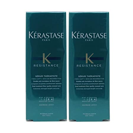 Bundle -2 items K rastase Resistance Serum Therapiste, 1.01 Fl. Oz. Pack of 2
