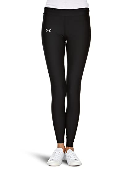 74bcacd24 Under Armour Women's ColdGear Compression Leggings , X-Small, Black/Silver