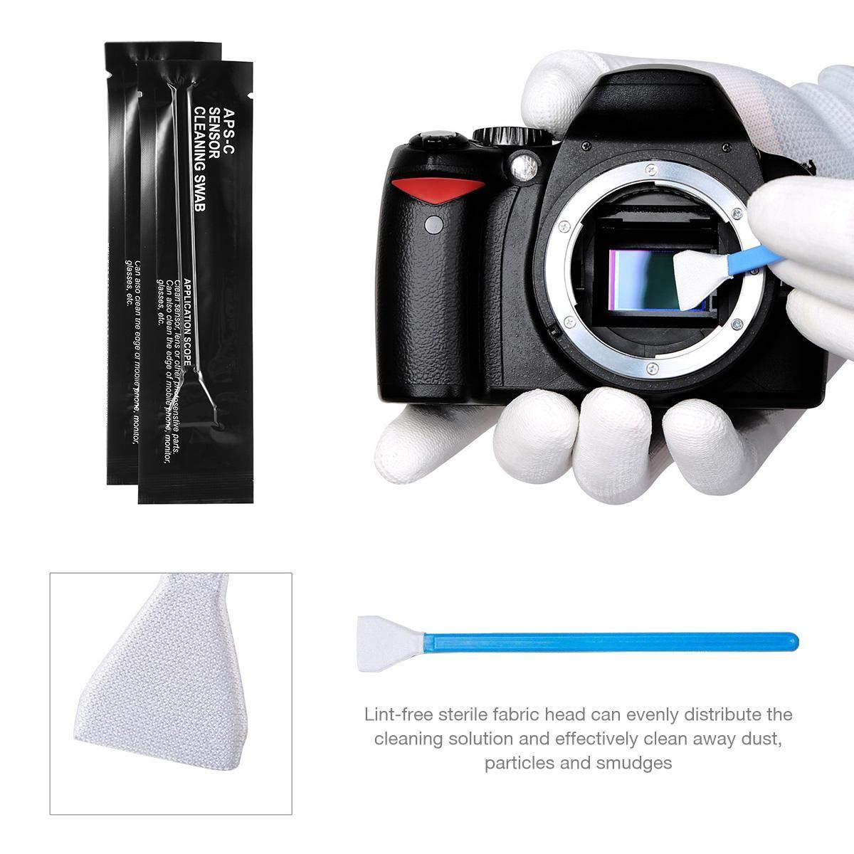 AOLVO - Kit de Limpieza Profesional 39 en 1 para cámaras réflex ...