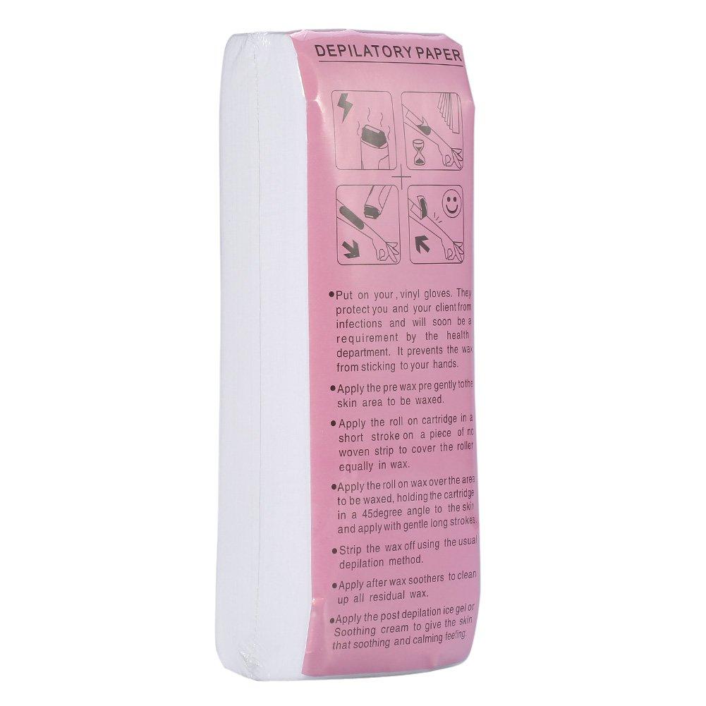 Hair Removal Depilatory Paper Leg Arm Armpit Nonwoven Epilator Waxing Strip 100 Sheets/ Bag