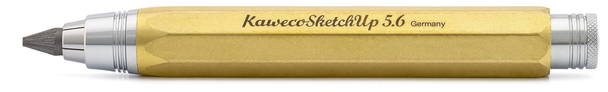 Kaweco Sketch Up 5,6 mm 8 hexagonal Clutch pencil Brass by Kaweco