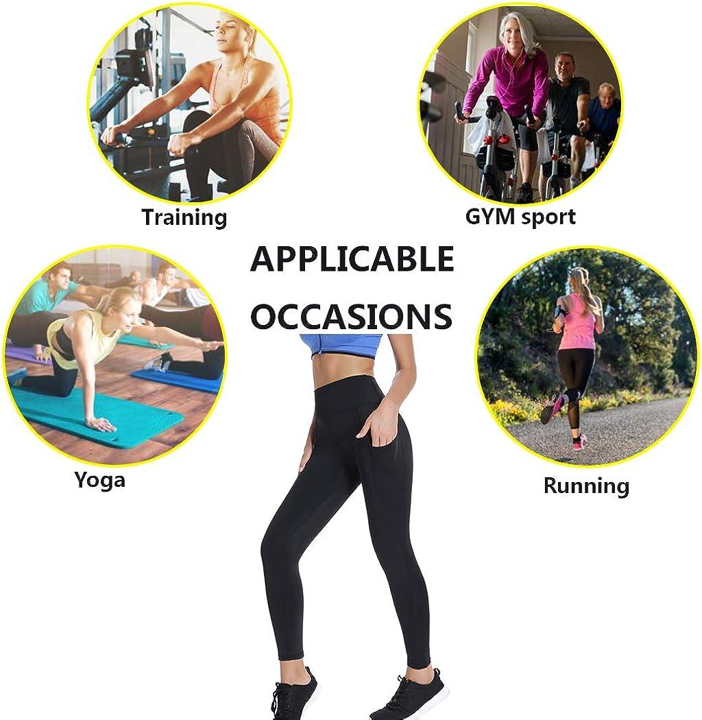 Joyshaper Leggings Deportivos para Mujeres Damas Ni/ñas Malla Pantalones Capris Pantalones Medias El/ásticas Skinny Slim Yoga Gym Workout Entrenamiento F/ísico Athletic Tummy Control