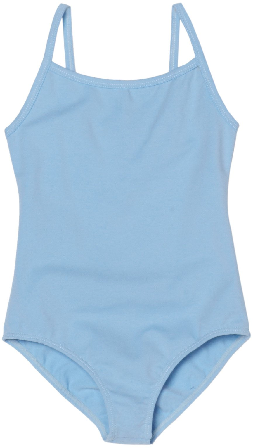 Sansha Little Girls' Stacie Camisole Leotard, Light Blue, Toddler 2-4