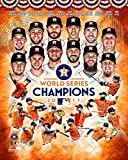 Houston Astros Jose Altuve & Carlos Correa & Team College. 2017 World Series Champions 8x10 Photo Picture. (coll)
