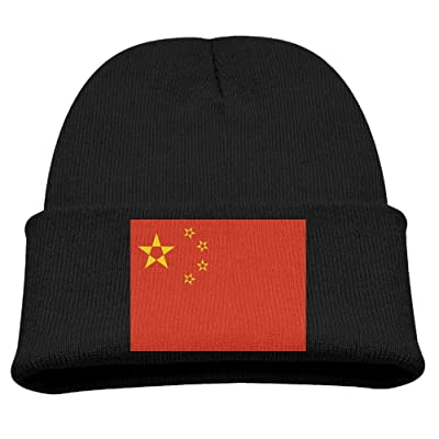 1ed296168 ZWZ National Flag Of China Kid's Hats Winter Funny Soft Knit Beanie Cap  Children Unisex