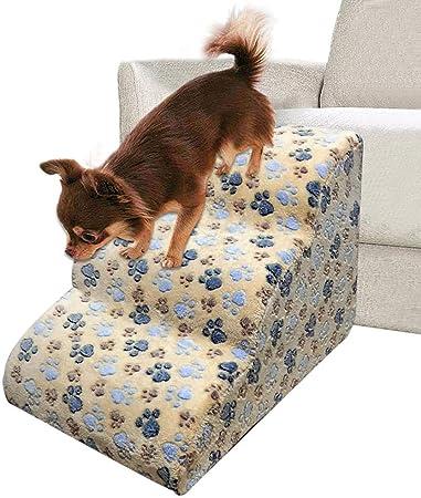Pasos para mascotas Escaleras de ejercicio para perros Escalera para mascotas Escaleras para gatos Gatos de paso Rampa Sofá Cama Escalera: Amazon.es: Hogar