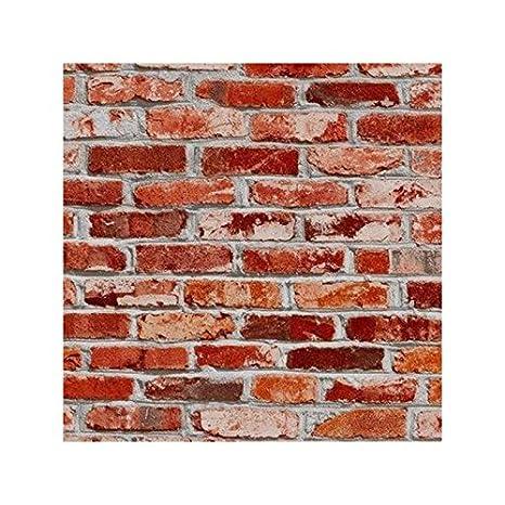 Bonita Rouleau Adhésif Décoratif 45cm X 2m Mur De Briques Amazon Fr