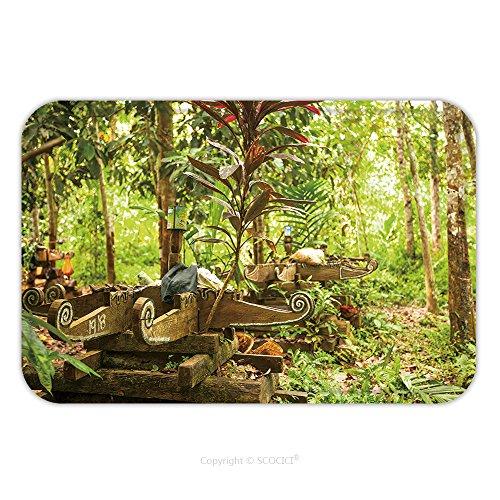 Flannel Microfiber Non-slip Rubber Backing Soft Absorbent Doormat Mat Rug Carpet Berdut Malaysia Apr Cemetery In Village Orang Asli In His Village On Apr In Berdut 145341979 for (Kilim Village)