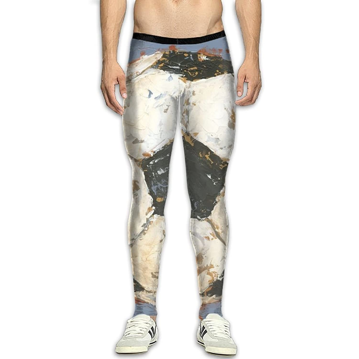 a9e67ff600e230 Olivefox Fit Clothes UV for Men Compression Sports and Fitness Tights  Workout Pants Breathable Football Cool