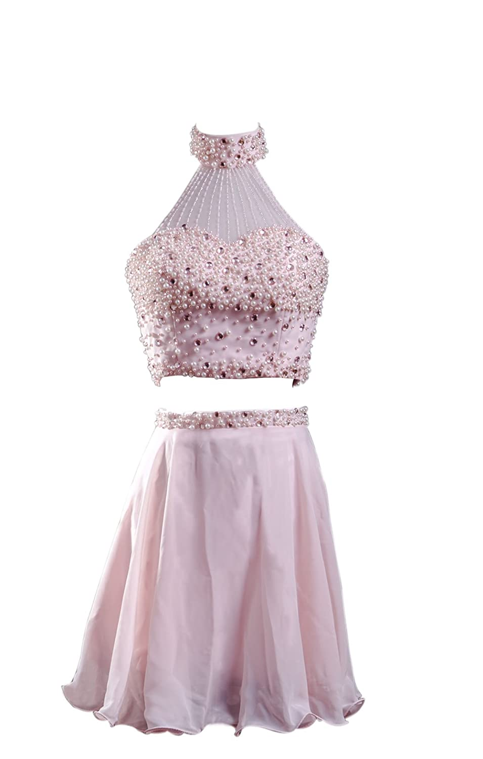 SimpleDressUK Short Two Piece Beading Cocktail Quinceanera Dresses